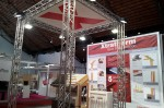 Xtratherm's stand at the Passiefhuis Platform symposium in Brussels